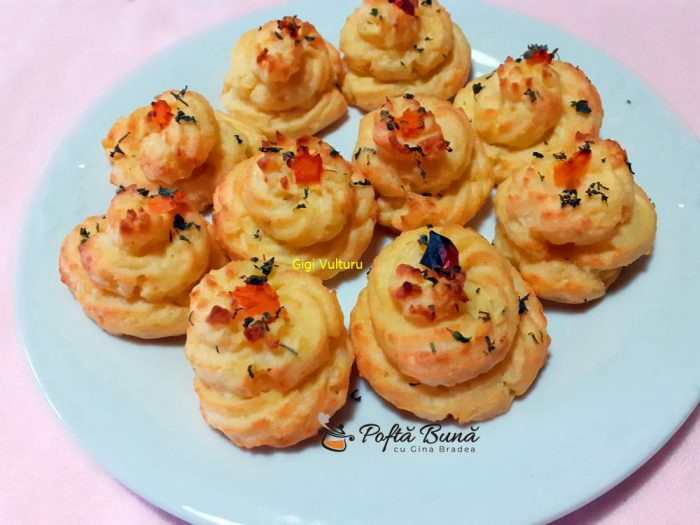 Cartofi Duchesse