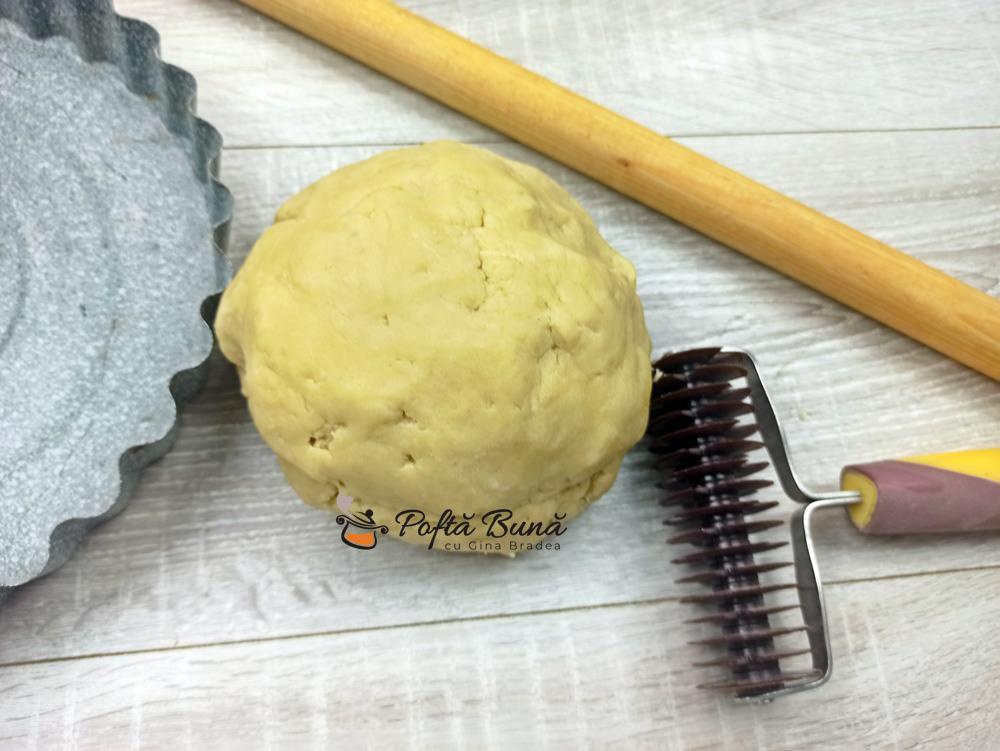 Aluat fraged pentru tarte sarate