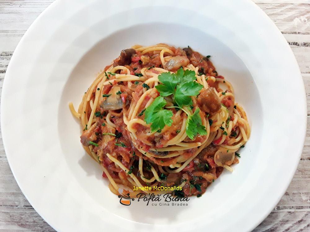 spaghete cu legume reteta de post 3 - Spaghete cu legume reteta de post