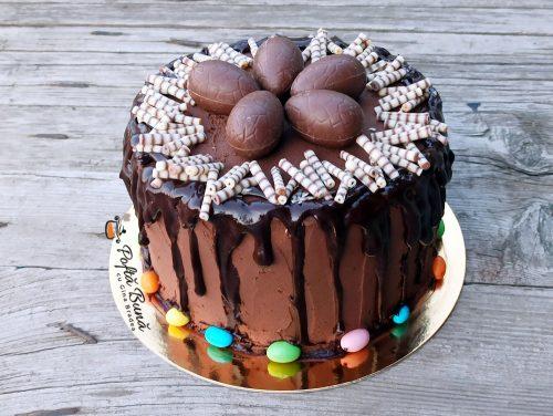 Tort de ciocolata cu crema ganache si cafea reteta gina bradea 3 500x376 - Tort de ciocolata cu crema ganache si cafea, reteta simpla