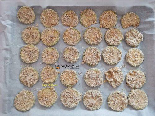Chipsuri din dovlecei la cuptor