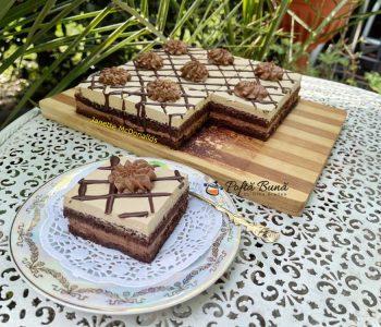 prajitura cu crema de ciocolata si ness 1 350x300 - Index retete culinare (categorii)