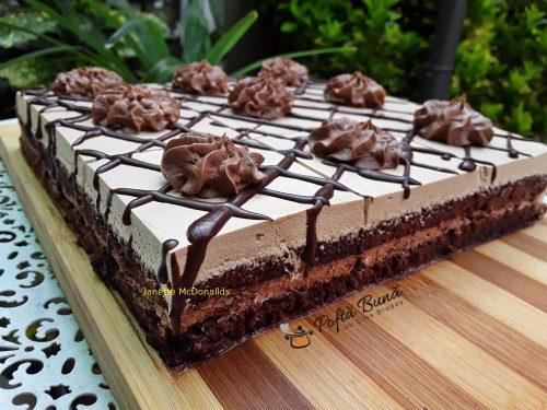 Prajitura cu crema de ciocolata si ness