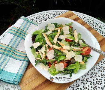 salata cu piept de pui si rosii reteta simpla 4 350x300 - Index retete culinare (categorii)
