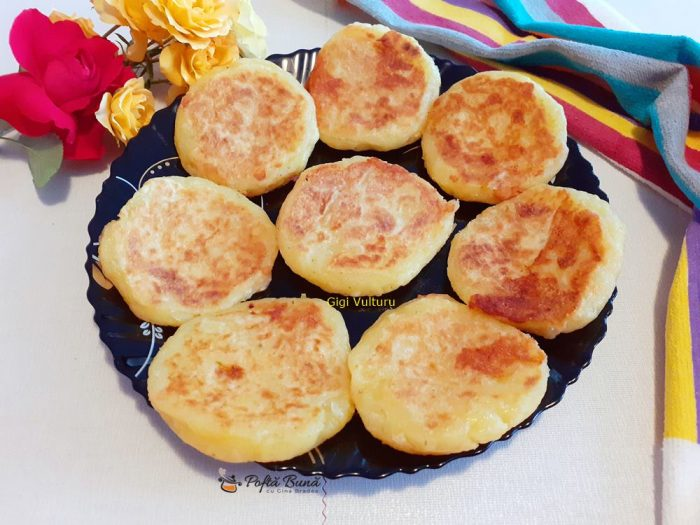 Clatite coreene din cartofi