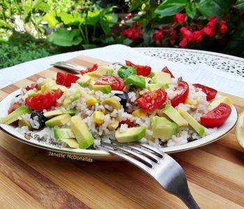 salata cu avocado orez legume 2 350x300 - Index retete culinare (categorii)
