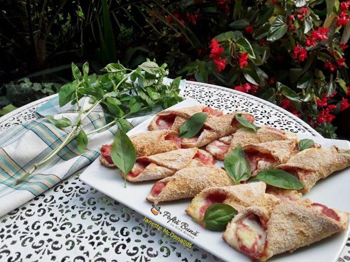 Cannoli de pizza
