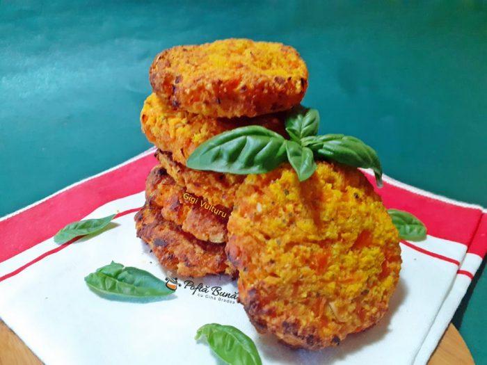 Chiftele din morcovi la cuptor