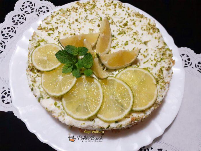 cheesecake cu lime reteta pas cu pas 3 700x525 - Cheesecake cu lime