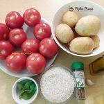 rosii umplute cu cartofi si orez la cuptor 7 150x150 - Rosii umplute cu cartofi si orez la cuptor