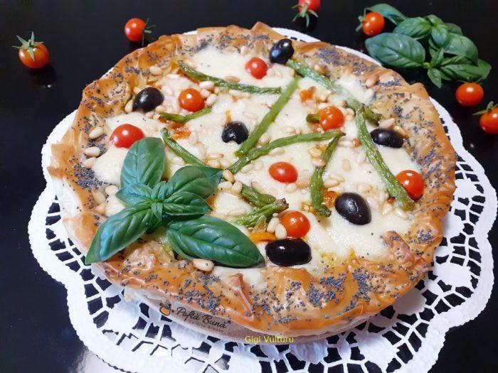 tarta din foi de placinta cu legume si mozzarella 2 700x525 - Tarta din foi de placinta cu legume si mozzarella