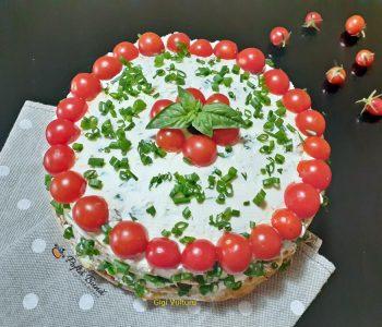 tort aperitiv cu dovlecei si crema de branza 1 350x300 - Index retete culinare (categorii)