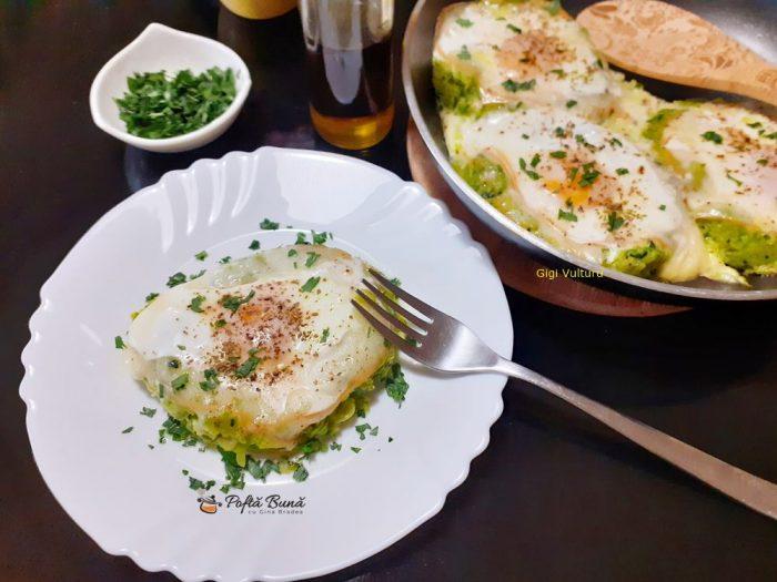 vCuiburi din dovlecei cu oua